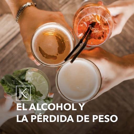 EL ALCOHOL Y LA PÉRDIDA DE PESO