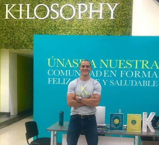 DONALD VEGA FUNDADOR NUTRICIONISTA Y DIRECTOR DE KILOSOPHY
